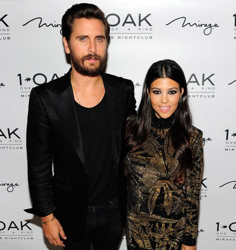 Scott Disick & Courtney Kardashian
