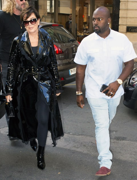 Kris Jenner Wears A Patent Leather Coat Love It Or Hate
