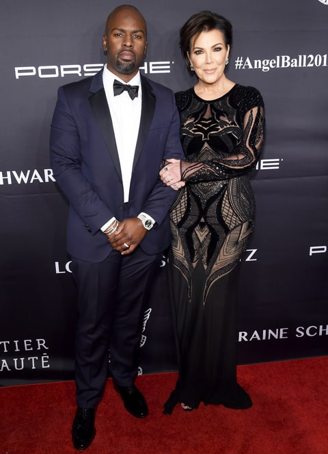 Kris Jenner and Corey Gamble attend the 2016 Angel Ball hosted by Gabrielle's Angel Foundation For Cancer Research on November 21, 2016 in New York City.