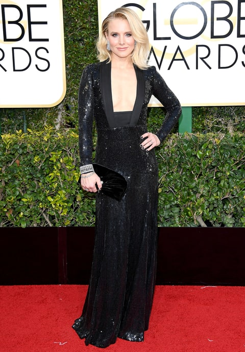 Image result for kristen bell 2017 globes