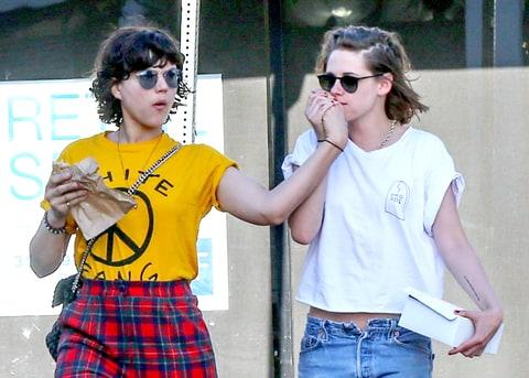 Kristen Stewart and Gi...