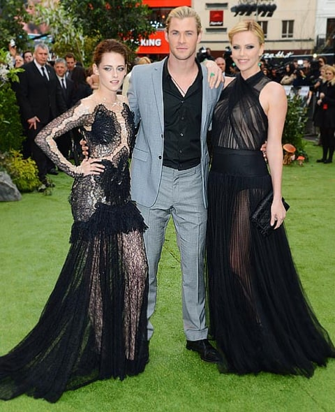 Kristen, Chris and Charlize