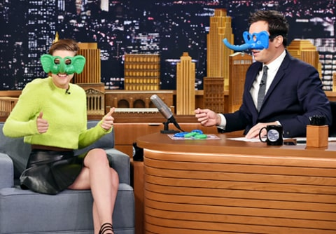 kristen stewart on jimmy fallon