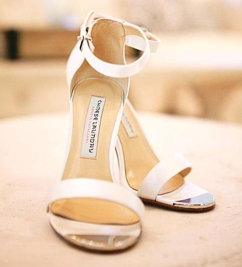 kristin Cavallari wedding shoe