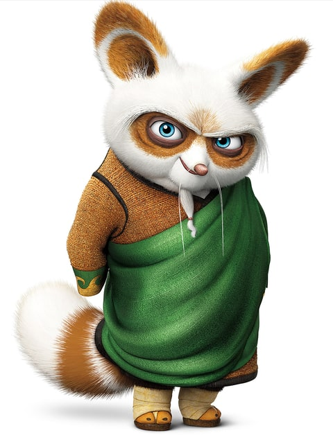 Dustin hoffman doesn 39 t know what animal he plays in kung - Kung fu panda shifu ...