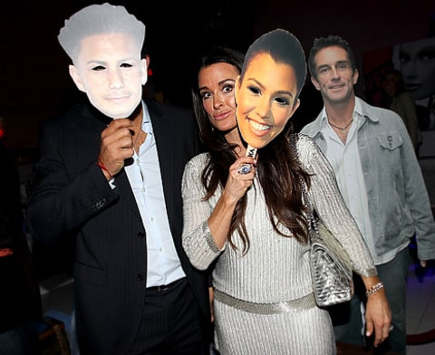 kyle richards reality party