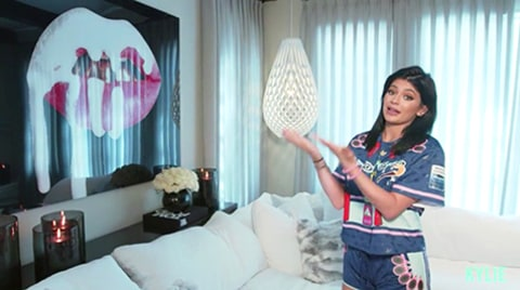 Kylie Jenner Home Tour Living Room