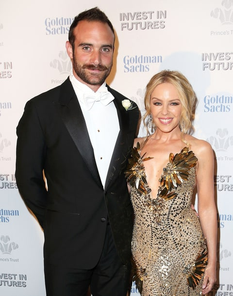 Kylie Minogue and boyfriend Josh Sasse