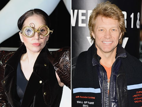 lady gaga and bon jovi