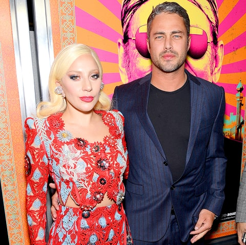 Lady Gaga and Taylor Kinney attend