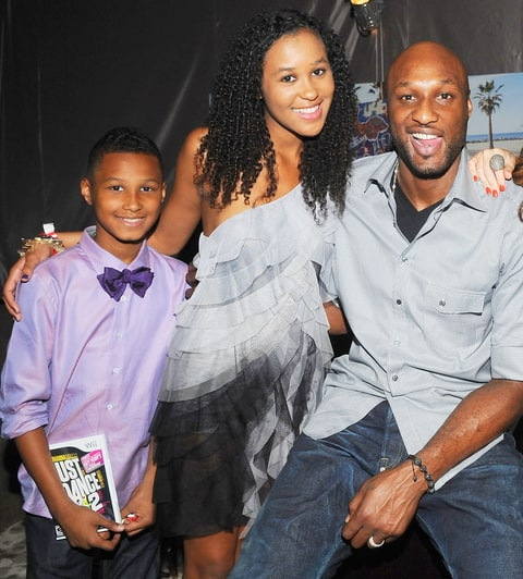 Lamar Odom Jr., Destiny Odom and Lamar Odom