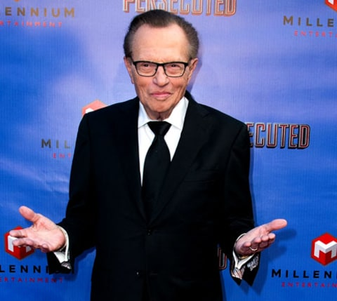 Larry King eats pot brownie