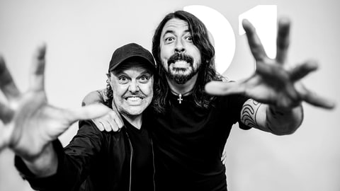 Beats 1 Radio: Lars Ulrich, Dave Grohl