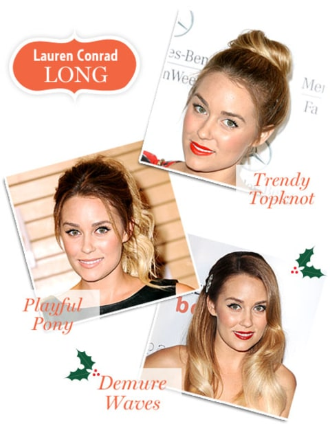 Holiday Hair - Lauren Conrad