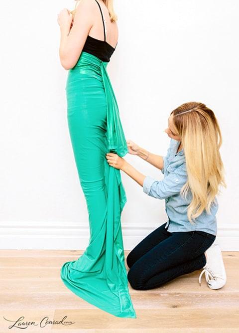 Lauren Conrad S Mermaid Halloween Costume Read Her Diy
