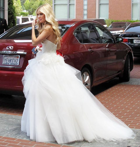 lauren parkesian wedding dress