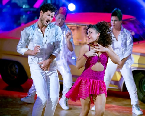 Laurie Hernandez imagines smelling a quesadilla to get in the mood for 'Dancing With the Stars'