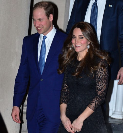 Will and Kate late