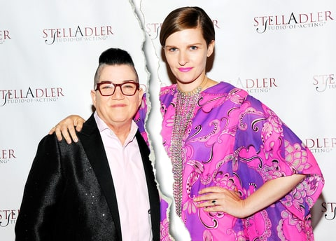 Actress Lea DeLaria (L) and Chelsea Fairless attend the 11th Annual Stella By Starlight Gala at Prince George Ballroom on June 13, 2016 in New York City.
