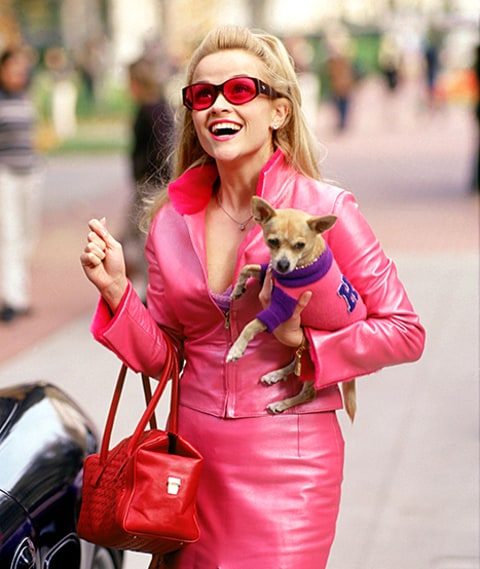 Reese in Legally Blonde