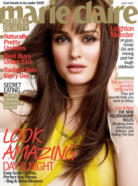leighton meester marie claire