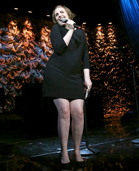 Lena Dunham - Howard Stern Birthday