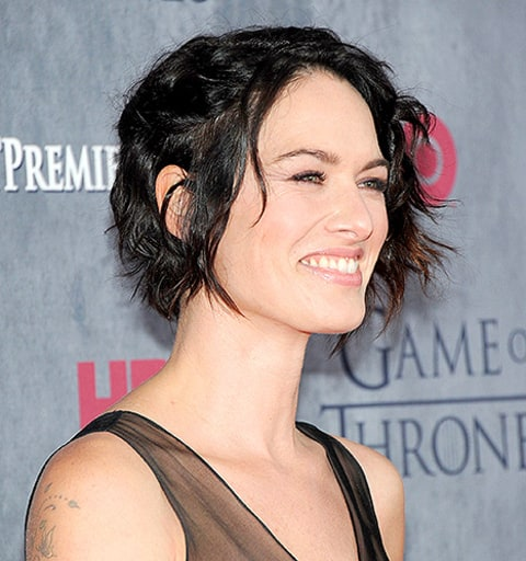 lena headey side hair