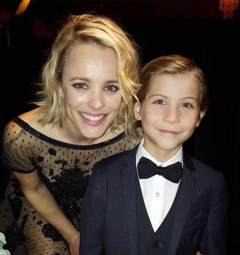 Jacob Tremblay Makes Hearts Melt, Meets Leonardo DiCaprio ... Rachel Mcadams Instagram