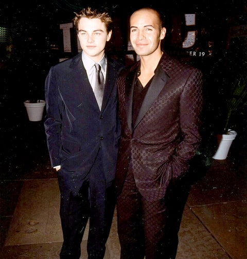 Leonardo DiCaprio and Billy Zane during