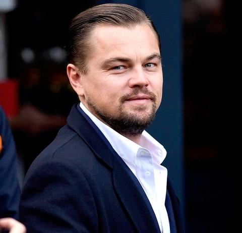 Leonardo DiCaprio arrives at Home restaurant during his first visit on ...  Leonardo Dicaprio