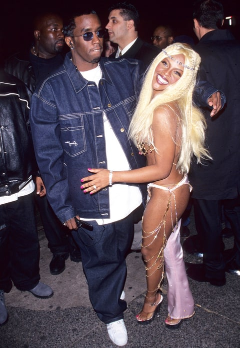 Puff Daddy and Lil Kim