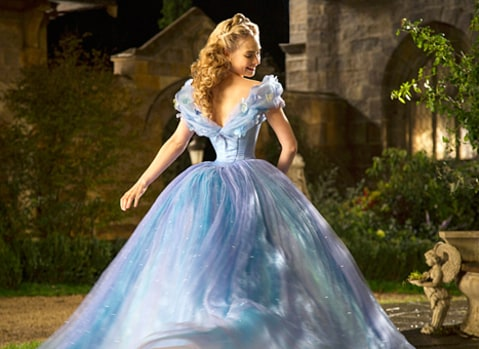 cinderella back view