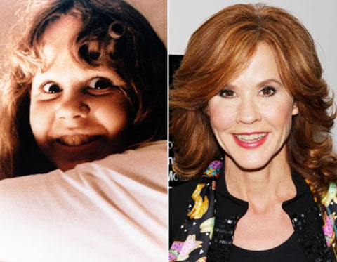 Linda Blair and exorcist