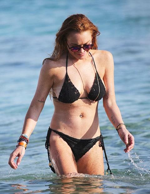 Lindsay Lohan Bikini Picture 50