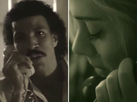 Lionel Richie and Adele