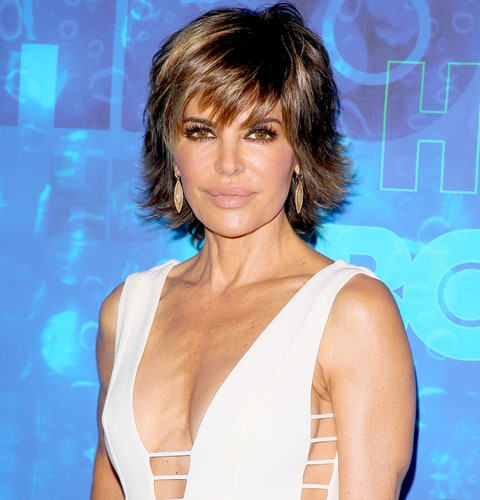 Lisa Rinna attends the HBO's Post Emmy Awards reception at The London Hotel on September 18, 2016 in West Hollywood, California.