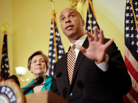 incarcerated women's act prison cory booker liz warren