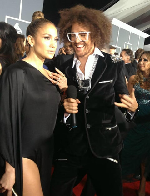 LMFAO dude and JLO