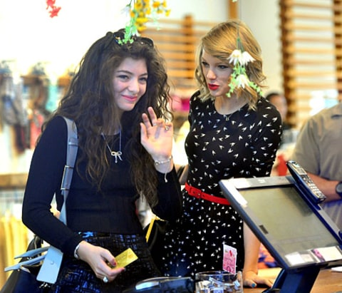 Lorde and Taylor Swift Shopping