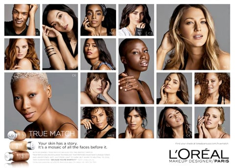 Blake Lively Loreal True Match