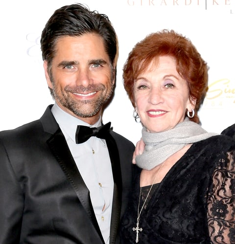 John Stamos and his mom, Loretta Phillips, attend the 21st Annual ELLA Awards at The Beverly Hilton Hotel in 2014.