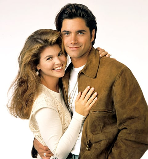 Lori Laughlin and John Stamos