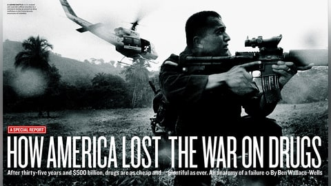 how america lost the war on drugs 2007 rolling stone