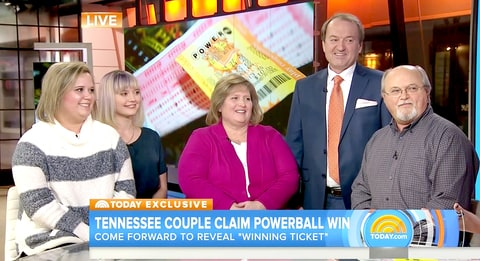 The Robinson family claims they won the Powerball.