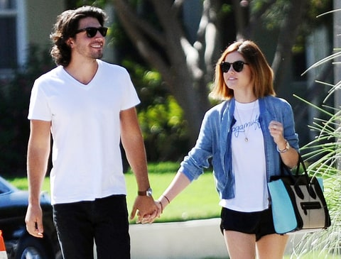 Lucy Hale and Anthony Kalabretta