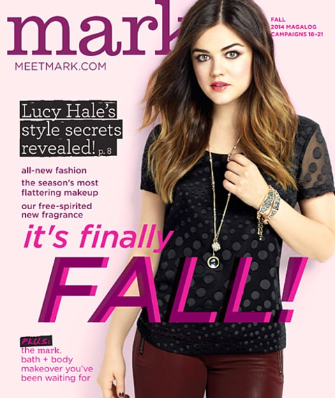 Lucy Hale - mark cover