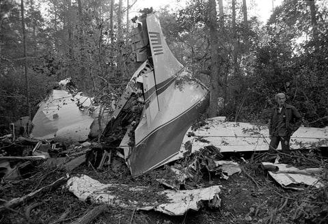 Lynyrd Skynyrd plane crash 1977
