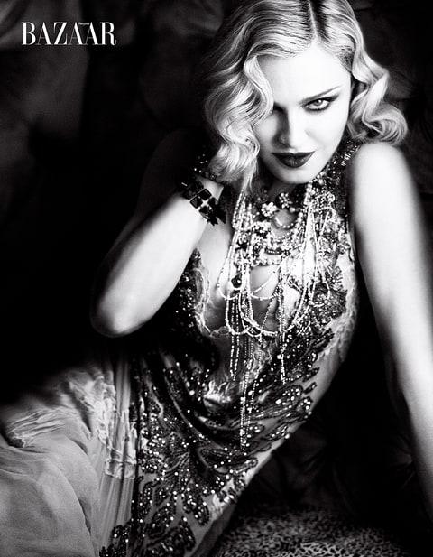 Madonna Harper's Bazaar
