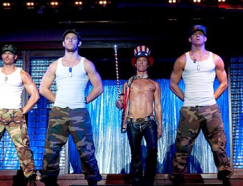 matt m in magic mike