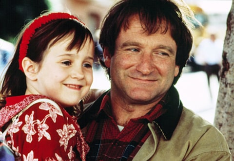 mara wilson and robin williams in mrs doubtfire